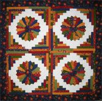 Plate on the Veranda Quilt Pattern BS2-235