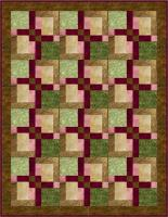 Down the Beaten Path Quilt Pattern BS2-305