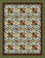 Checkerboard Galaxy Quilt Pattern BS2-308