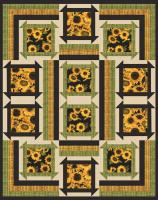 Sunshine Garden Quilt Pattern BS2-330