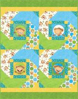 Dizzy Monkeys Quilt Pattern BS2-338