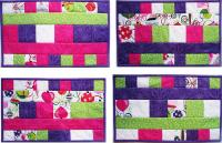 Shake up Five Placemats Pattern BS2-347