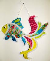 Goldfish Wall Hanging Pattern BS2-351