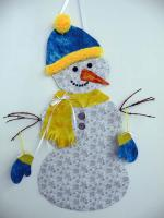 Snowman Wall Hanging Pattern BS2-366