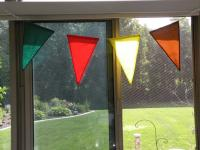 Nylon Pennants Pattern BS2-372