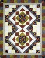 Swirling Leaves Quilt Pattern BS2-388