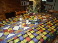 Expandable Star Table Cloth Pattern BS2-393