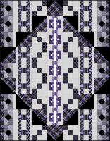 Black Tie Optional Quilt Pattern BS2-396