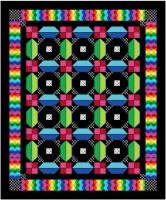 Carnival Explosion Quilt Pattern BS2-413
