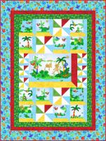 Hangin Out in the Jungle Quilt Pattern BS2-414