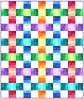 Color Weave Quilt Pattern BS2-433