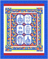 Blue Tapestry Quilt Pattern BS2-438