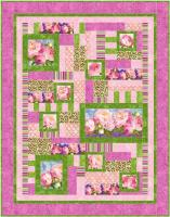 Peony Pictures Quilt Pattern BS2-452