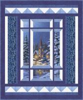 Modern Window Silent Night Quilt Pattern BS2-473