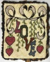 Love Punch Needle Embroidery Design BS4-123