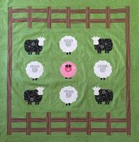 Piggy In The Middle Quilt Pattern BTBQ-116e