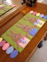 Easter Egg Hunt Table Runner Pattern CAM-560e