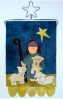 Oh Holy Night Wall Hanging Pattern CAM-571e