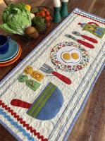 Set The Table Mabel Table Runner Pattern CAM-601e