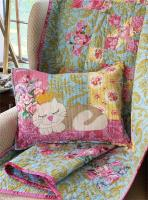 The Contrary Cat Quilt and Pillow Pattern CAM-602e