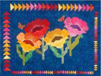 Poppies Quilt Pattern CC-483