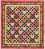Sherbet Hearts Quilt Pattern CCC-010
