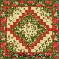Christmas Eight Trip Quilt Pattern CJC-214727