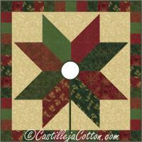 Starlight Tree Skirt Pattern CJC-241618