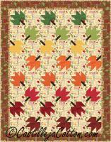 Twirling Leaves Quilt Pattern CJC-2420