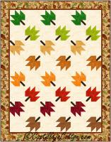 Twirling Leaves Quilt Pattern CJC-24207