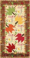 Falling Leaves Quilt Pattern CJC-2462