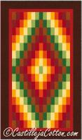 Diamond Wall Quilt Pattern CJC-288217