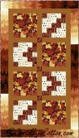 Burst of Autumn Quilt Pattern CJC-36365
