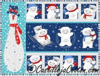 Snow Folk Placemat Pattern CJC-36589