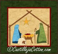 Nativity Quilt Pattern CJC-369710