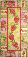 String of Hearts Quilt Pattern CJC-3771