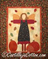 Autumn Garden Angel Quilt Pattern CJC-3843