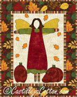 Autumn Garden Angel Quilt Pattern CJC-384312