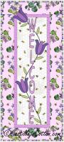 Welcome with Tulips Wall Hanging Pattern CJC-39947