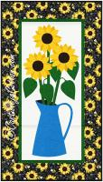 Sunflowers in a Jug Quilt Pattern CJC-405513