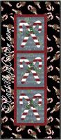 Candy Cane Panel Quilt Pattern CJC-406324