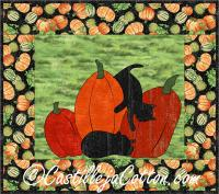 Cats and Pumpkins Quilt Pattern CJC-416513