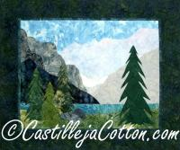 Mountain Glacier Quilt Pattern CJC-4222