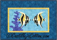 Nose to Nose Fish Quilt Pattern CJC-4235