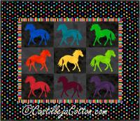 Painted Ponies Quilt Pattern CJC-4246