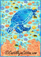 Mortimer the Turtle Quilt Pattern CJC-4317
