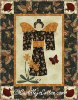 Asian Angel Quilt Pattern CJC-4368