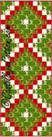 Six Pack Trip Table Runner Pattern CJC-4447