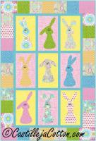 Bunnies Galore Quilt Pattern CJC-4461