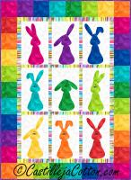 Bunnies Galore Quilt Pattern CJC-44614